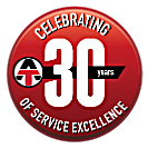 celebrating 30 years of service excellence